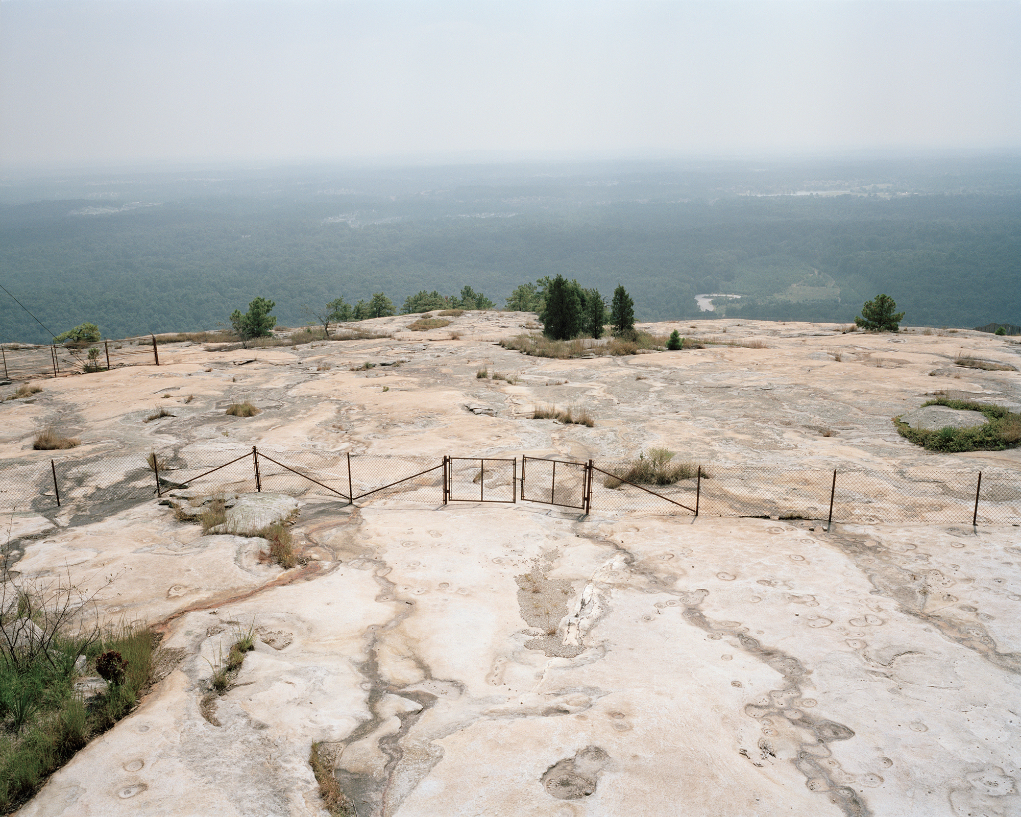 Atop Stone Mountain