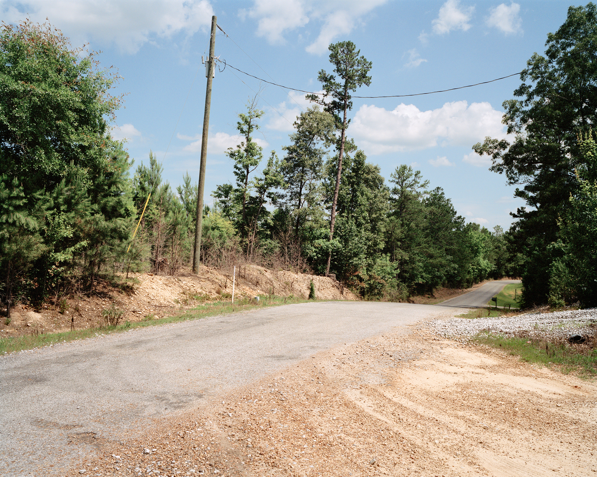 Site of Cheney Goodman Schwerner Murder, Neshoba County, Mississippi, near Philadelphia